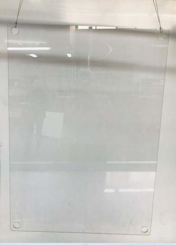 Schutzwand Typ 950650H